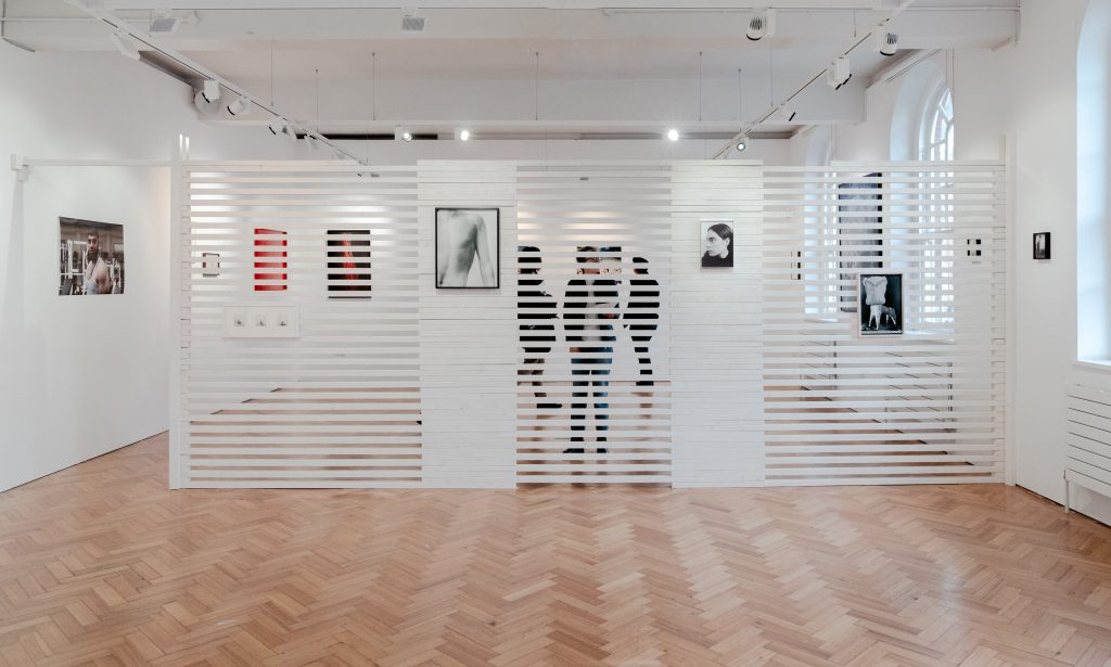 With Monochrome Eyes, 2020, Installation View, photo Elena Helfrecht