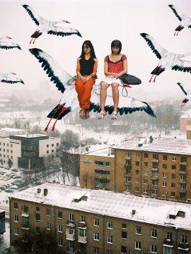 """Sleeping girls"" (2016) from the series ""Kurasoushchyna, my love"" (2015-2017)"