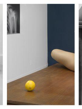 Barbara Probst, Exposure #141: N.Y.C., 368 Broadway, 02.21.19, 6:43 p.m., 2019 Ultrachrome ink on cotton paper 3 parts: each 137 x 91 cm                           copyright: Barbara Probst / VG Bild-Kunst courtesy: Kuckei + Kuckei, Berlin